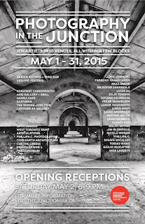 Photography in the Junction: May 1-31, 2015; poster by thejunctionbia.ca