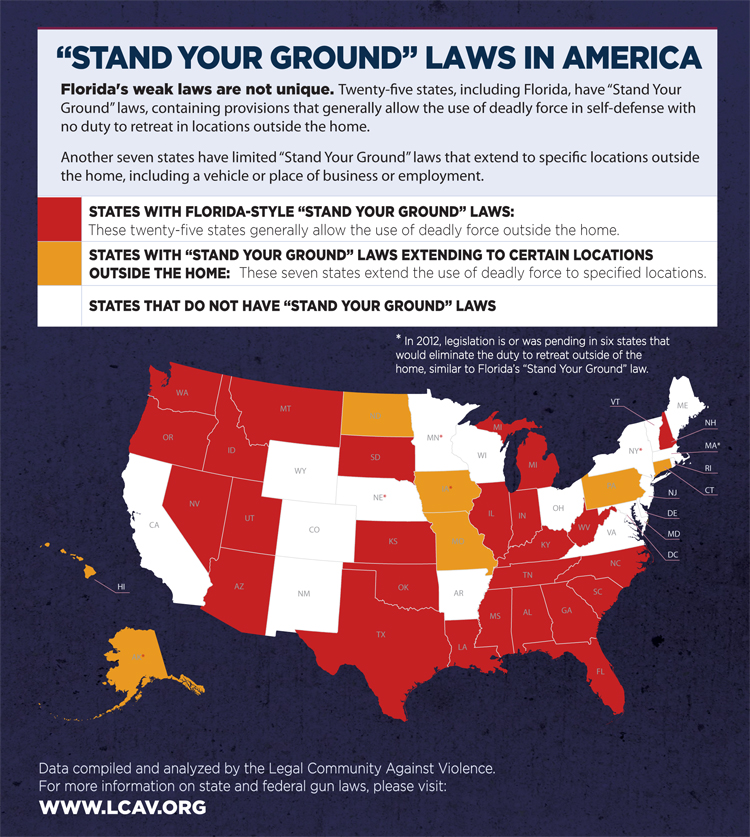 """Florida's """"Stand Your Ground"""" Law and Self-Defense"""