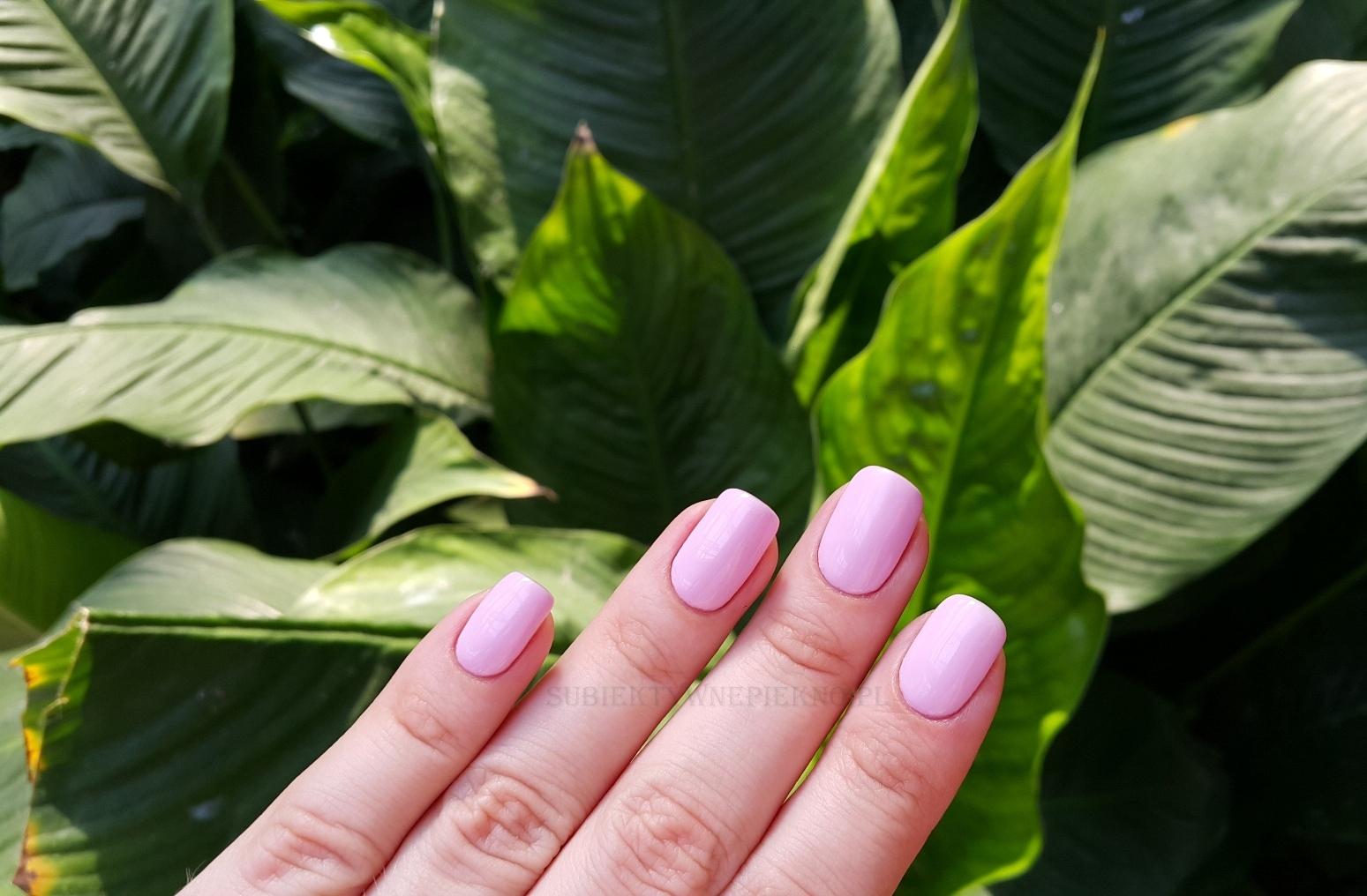 Lakier hybrydowy Light Lavender NeoNail 3193 swatche