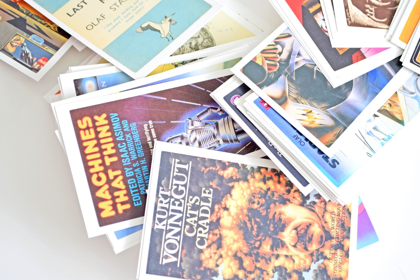 pocztówki science fiction kolekcja