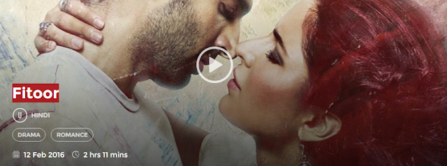Fitoor 2016 HDrip Hindi Movie 700mb Free