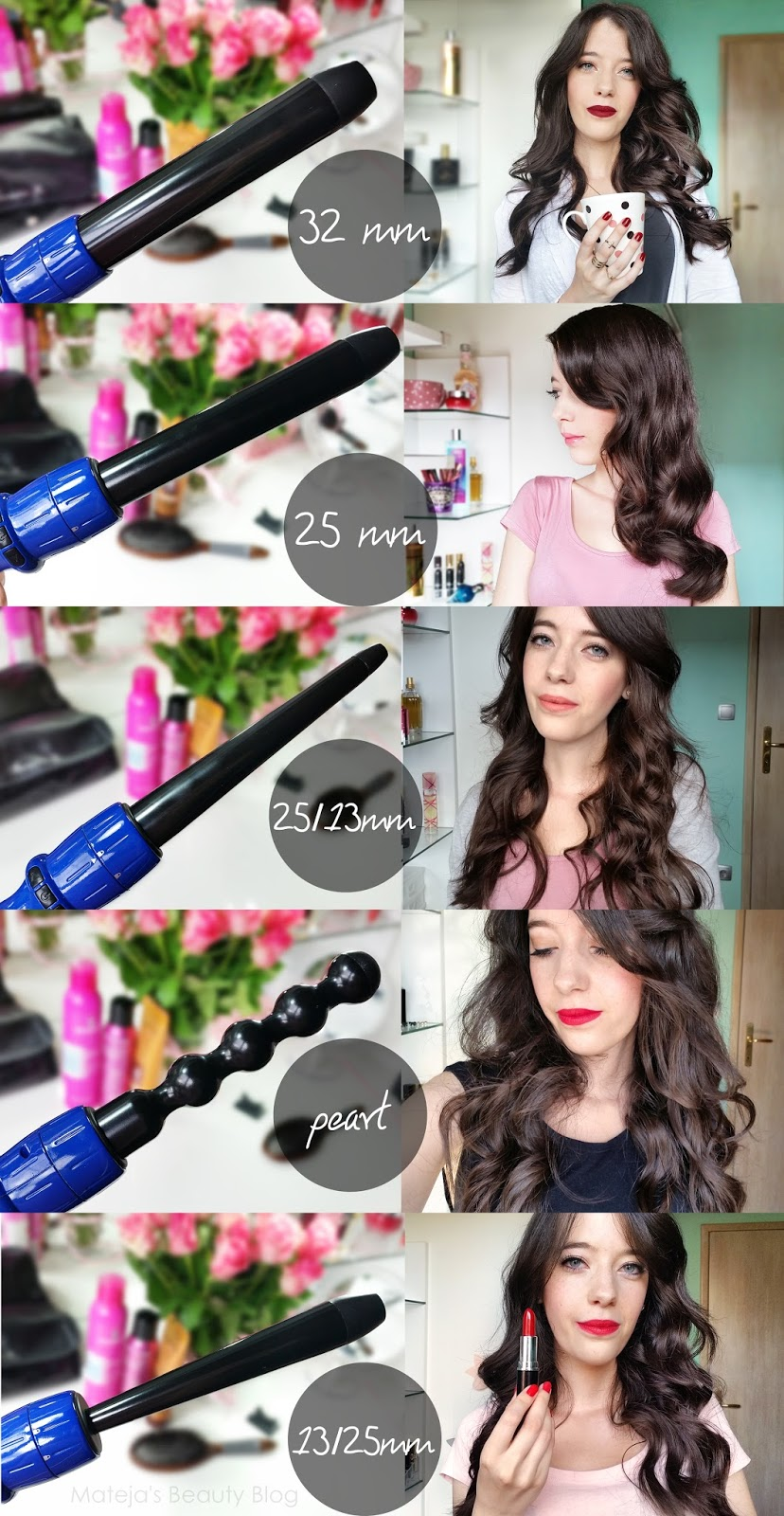 Sapphire 8 in 1 complete curling wand matejas beauty blog curls last well at this curler though that is also due to my natural hair texture the techniques and products i use retro curls lasted particularly well urmus Images