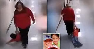 Δασκάλα σέρνει αυτιστικό παιδί στο διάδρομο του σχολείου για να το βγάλει από την τάξη