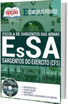 Apostila EsSA 2017 Sargentos do Exército (CFS)