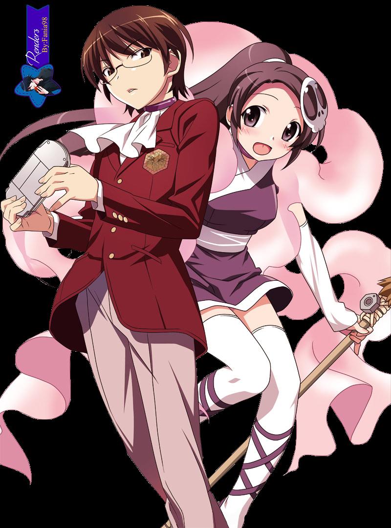 Keima & Elsie- Render
