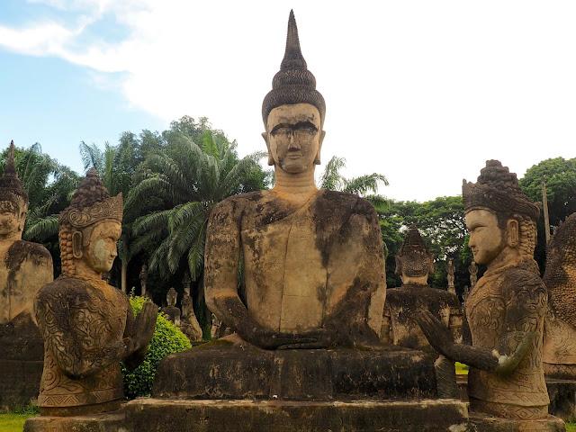 Buddha Park near Vientiane, Laos