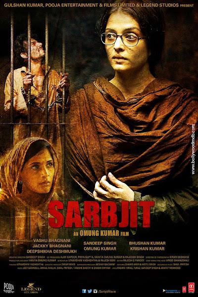 Poster of Sarbjit 2016 720p Hindi DVDRip Full Movie Download
