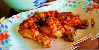 Resep Rica-Rica Sayap Ayam Bumbu Pedas Super Lezat