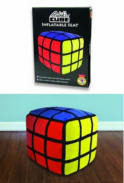 Official Inflatable Rubik's Cube Seat