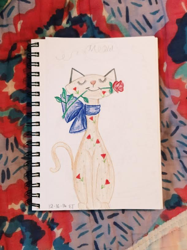 Art Journal entry from Eloise Edition