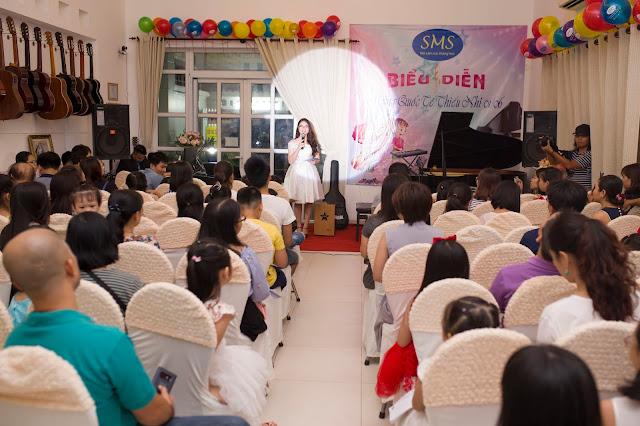 Biểu diễn âm nhạc tại Cơ Sở 2 Số 24, đường số 10, Phường Thảo Điền, Quận 2