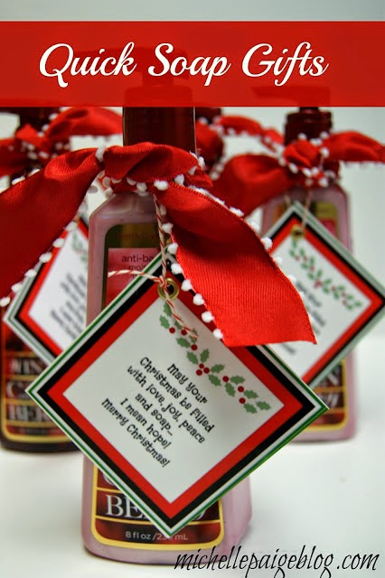Michelle Paige Blogs Punny Christmas Gifts