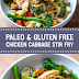 Paleo & Gluten Free Chicken Cabbage Stir Fry