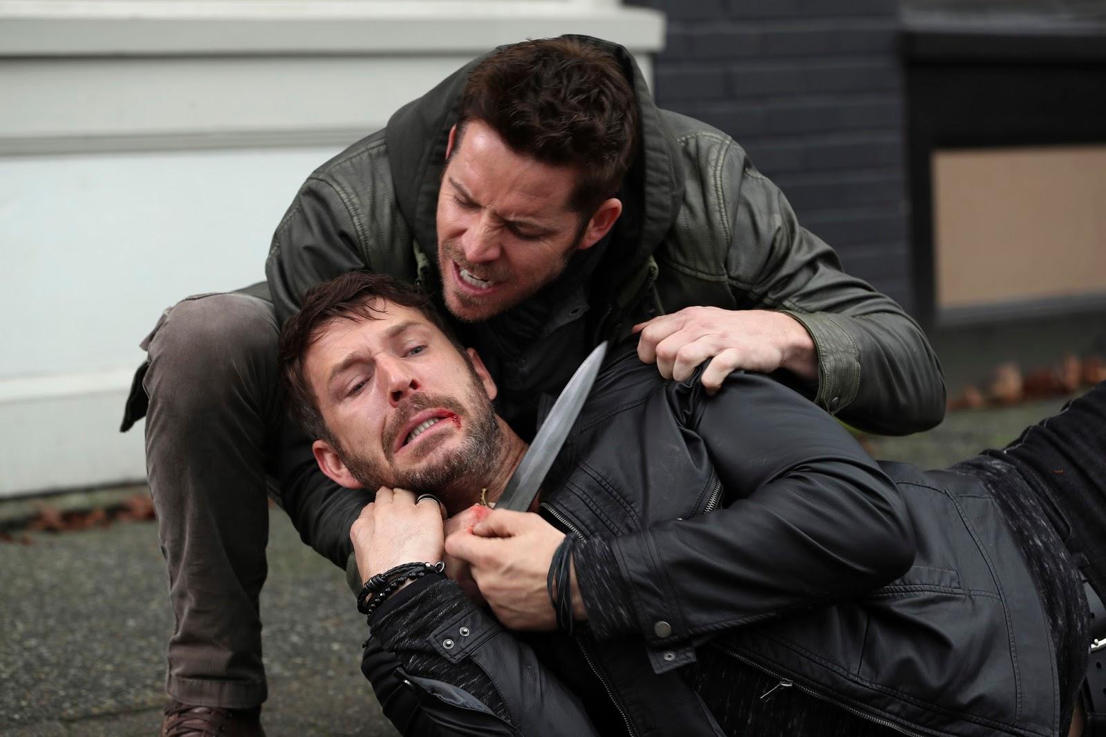 Robin Hood ataca sin piedad al sherif de Nottingham en 'Once Upon a Time'