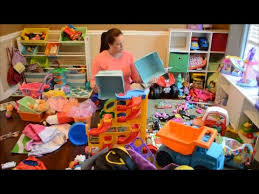Sorting and organizing toys