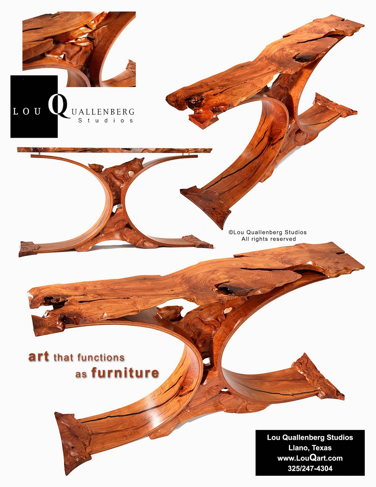 Mesquite Furniture: Lou Quallenberg Studios