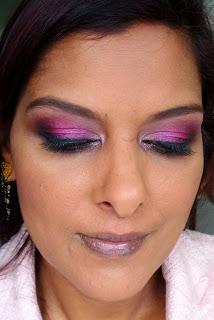 Eye makeup for dusky skin tone