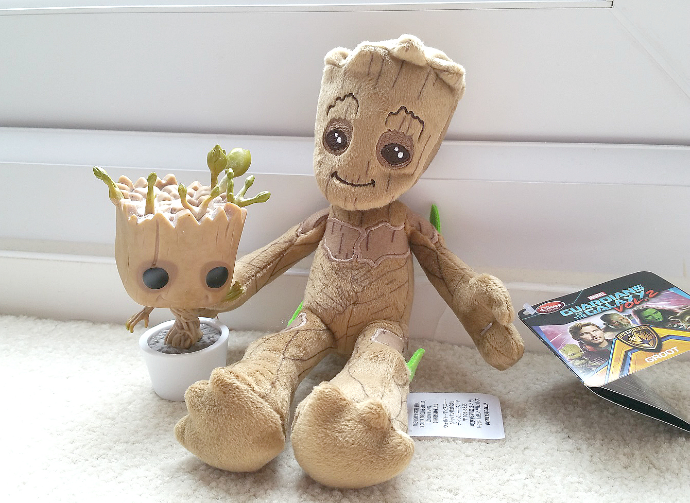 Disney Store Marvel, Guardian of the Galaxy Vol.2, Groot