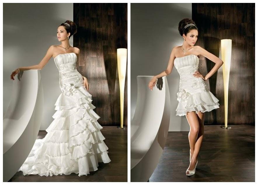 WhiteAzalea Elegant Dresses: 2 In 1 Wedding Dress, Fashion