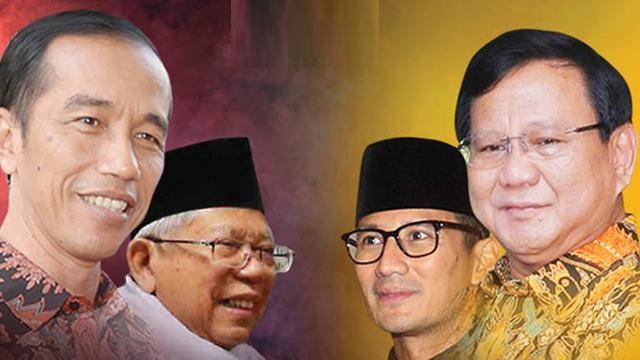 SAH, KPU Tetapkan Jokowi dan Prabowo Capres 2019