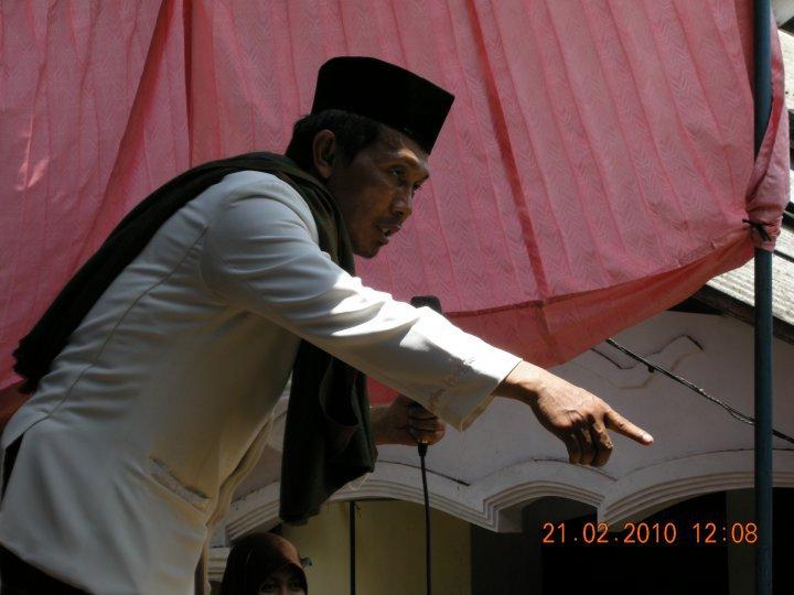 Abah Kyai Ibnu Mukti Mengisi Pengajian