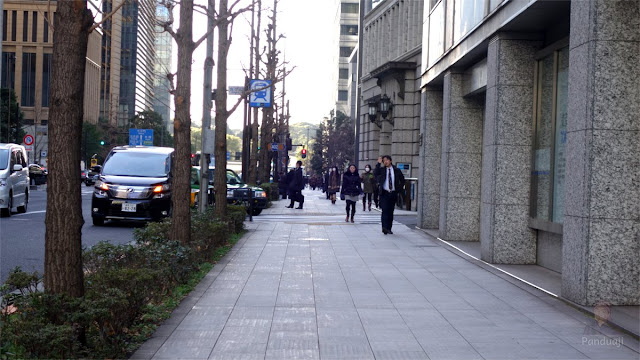 Jalanan di Tokyo