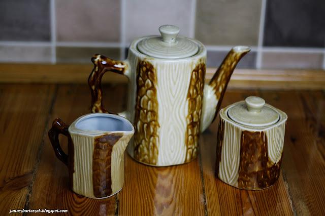 ceramiczny zestaw kawowy
