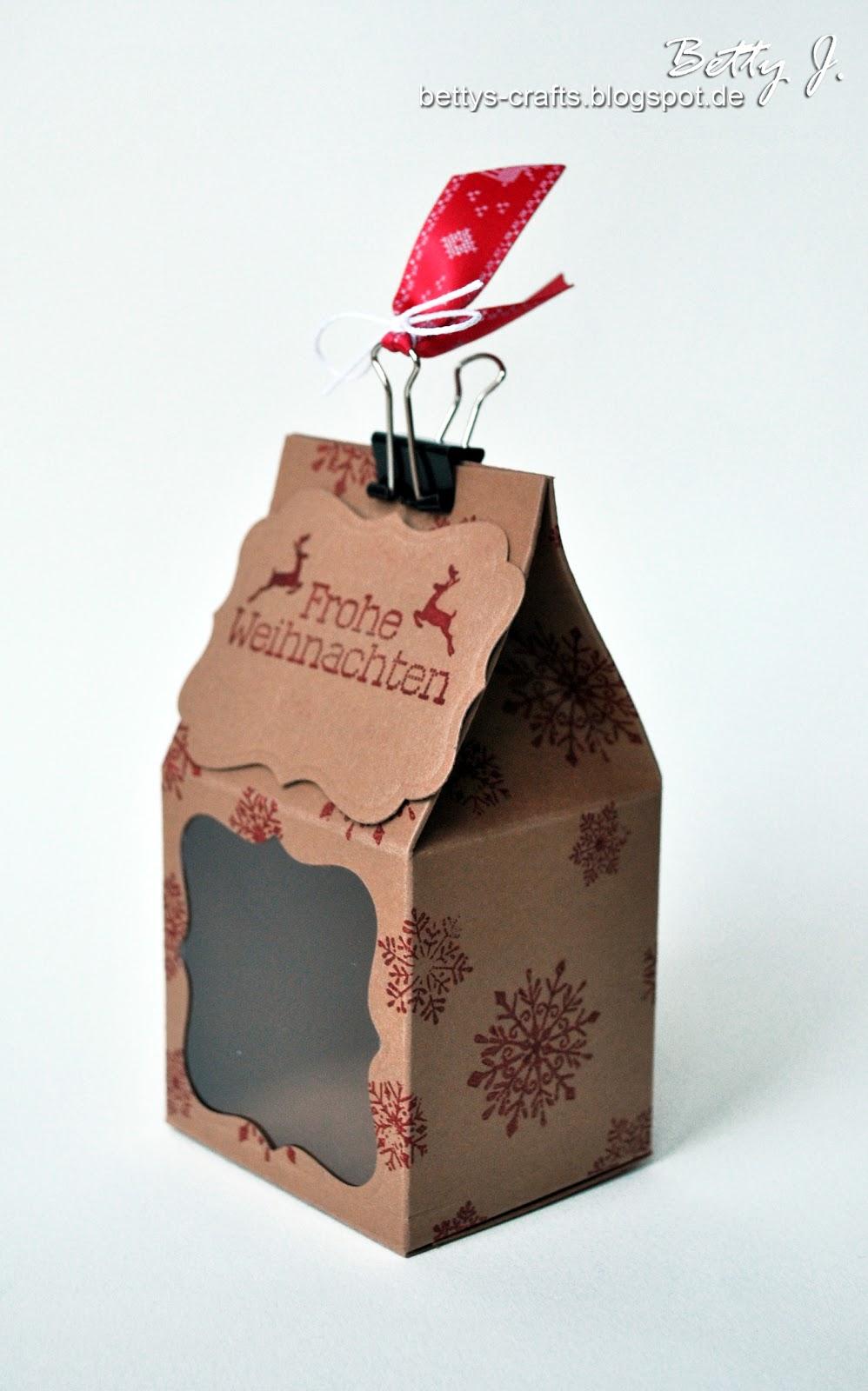 bettys crafts frohe weihnachten verpackung f r alle m glichen geschenke. Black Bedroom Furniture Sets. Home Design Ideas
