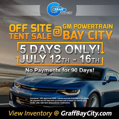 Drive to Sell 250 Vehicles Best Month Ever Sales Event at Graff Bay City