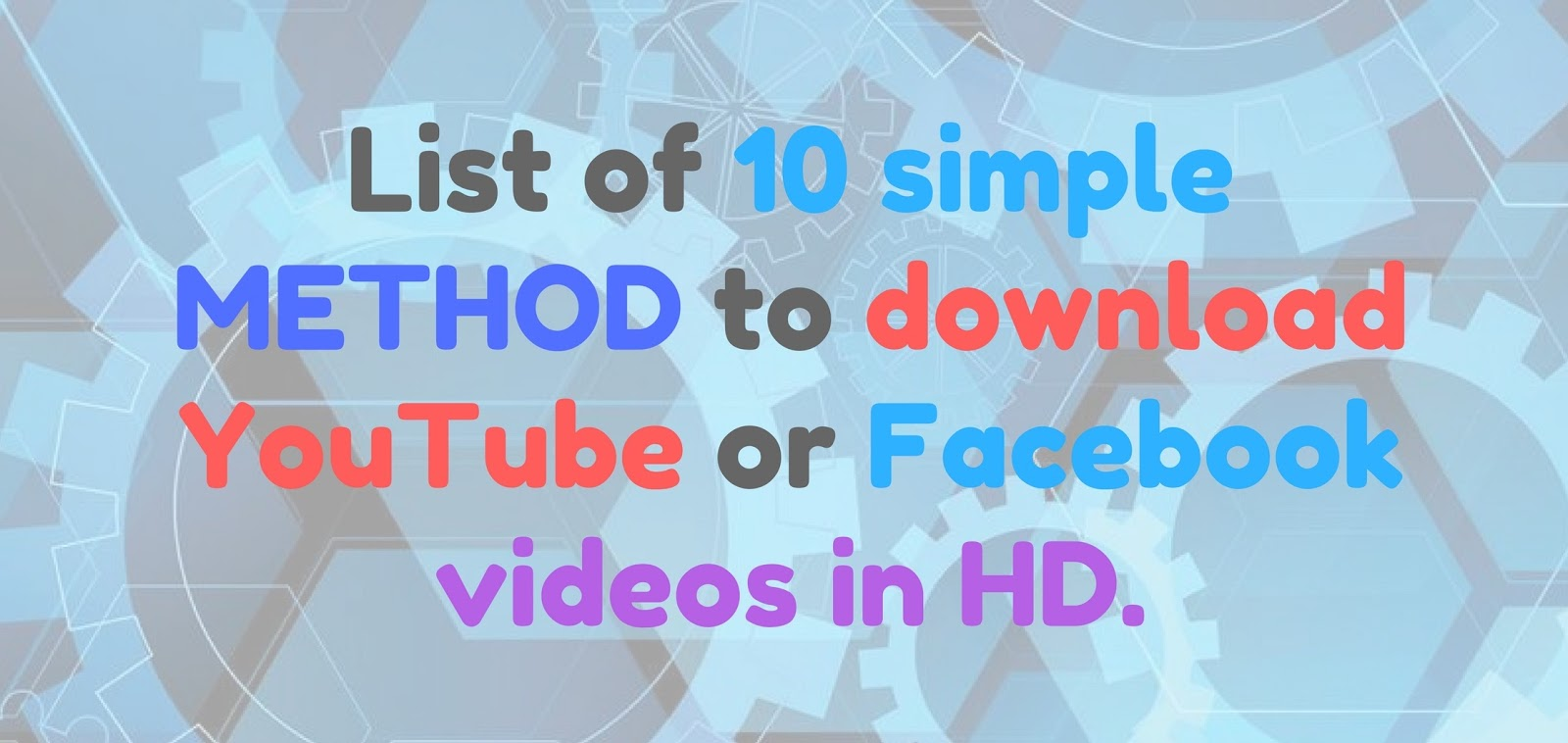 How to download youtube and facebook videos free in hd quality many users dont know how to download or save their favorite video in their computer so that they can watch videos without connected to internet ccuart Choice Image