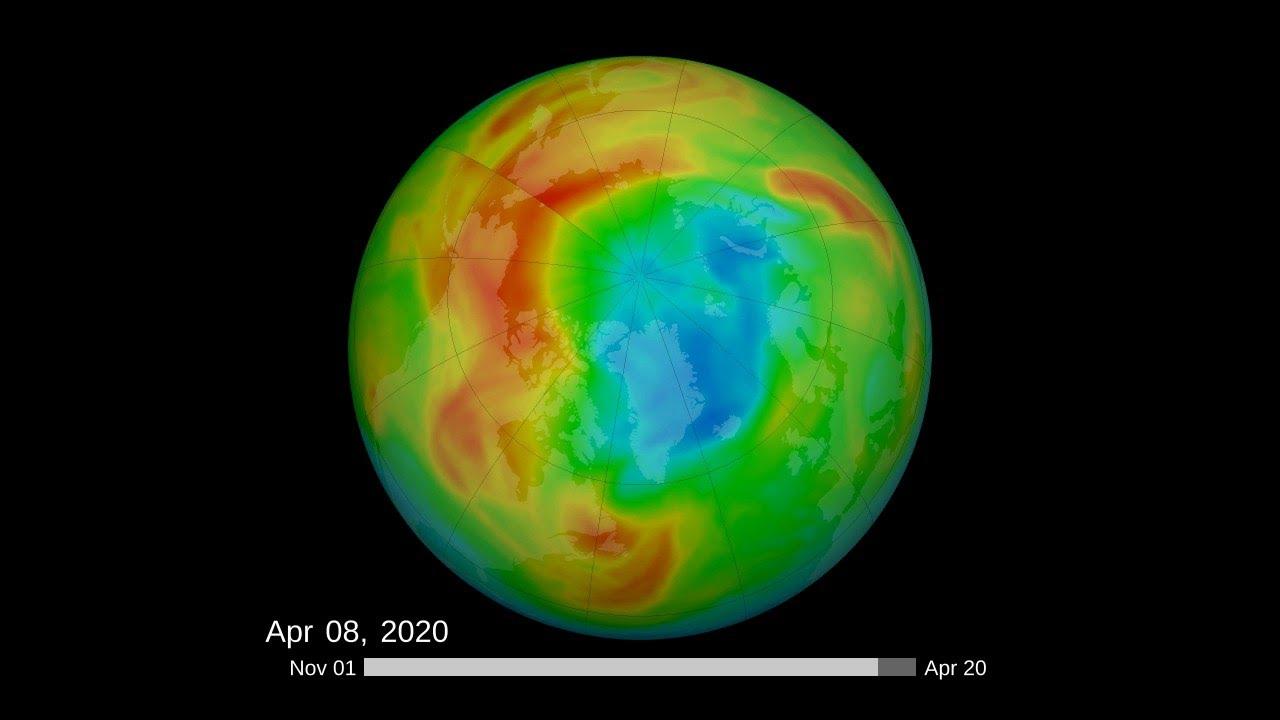 Se cierra el mayor agujero de ozono jamás detectado en el Ártico