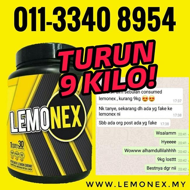 LEMONEX MALAYSIA | TERKURUS DENGAN JAYANYA