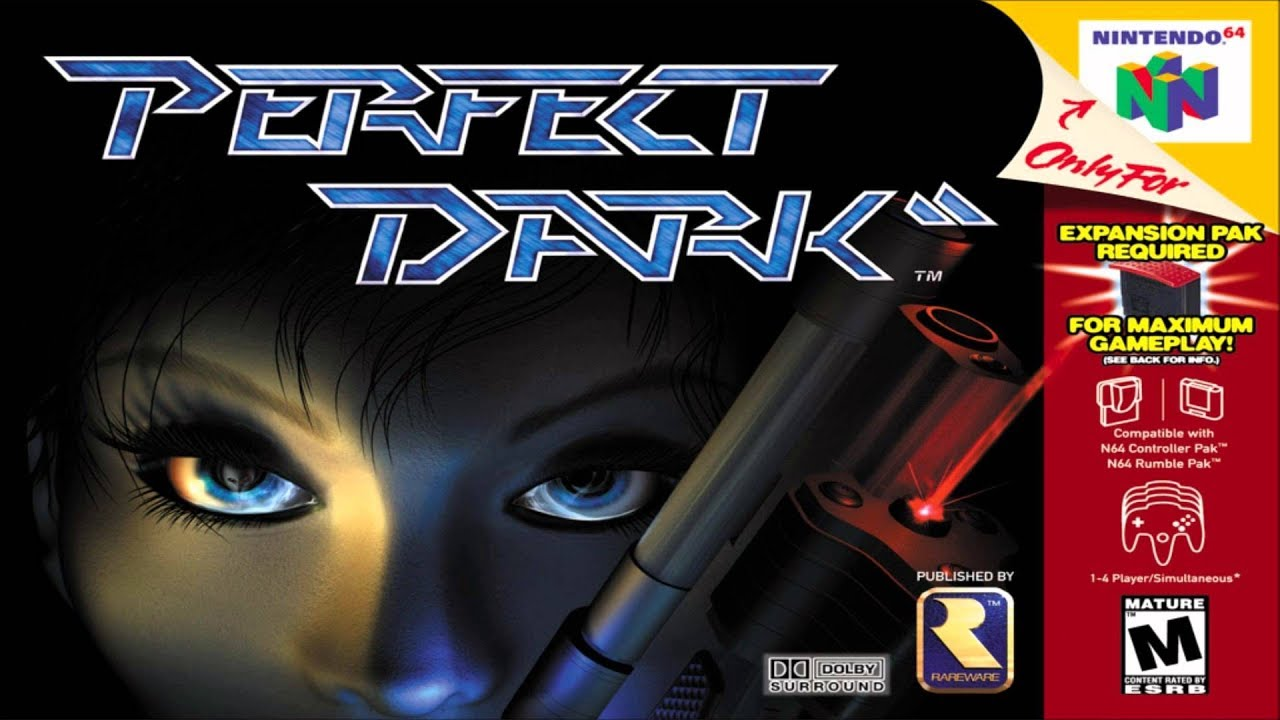 Perfect Dark-top jogo de tiro do n64!
