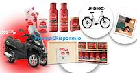 Logo Con Petti si vince: 122 forniture, soggiorni, Wi-Bike e 2 Piaggio MP3