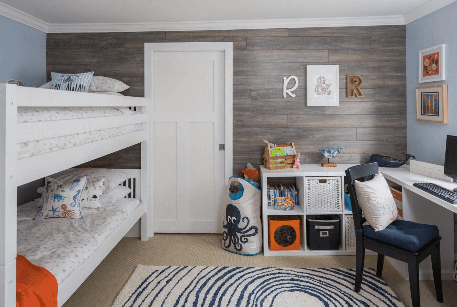 Ideas creativas para habitaci n compartida para una - Habitacion 3 ninos ...