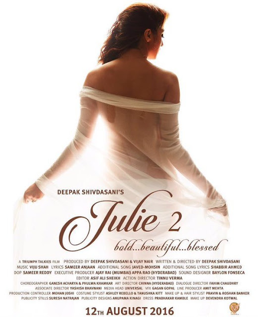 First Look of Julie (Poster) | Raai Laxmi