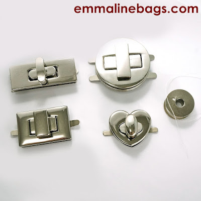 Assorted purse locks from Emmaline Bags