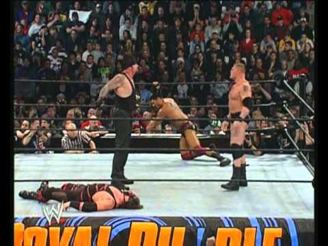 hdwweshow: Kane vs The Undertaker (Royal Rumble 2003)