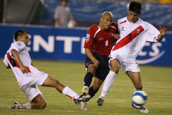 Perú y Chile en Clasificatorias a Sudáfrica 2010, 29 de marzo de 2009