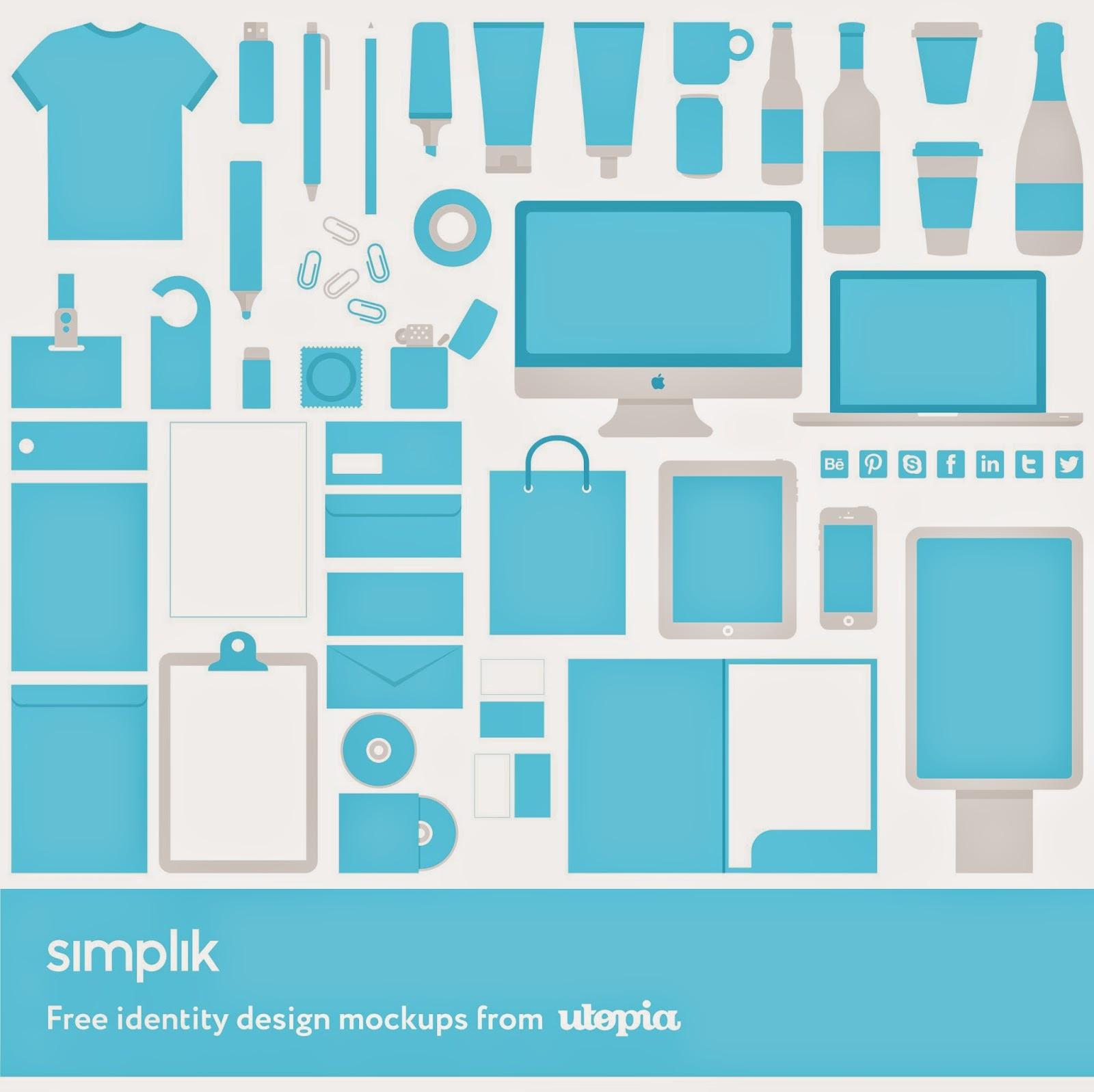 Identity Branding Mockup Templates