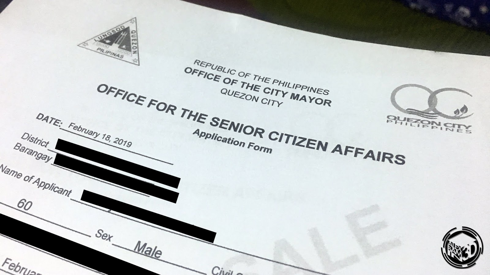 How to Apply for a Philippine Senior Citizen ID | AlexBamin3D