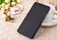 redmi note 4 leather flip cover