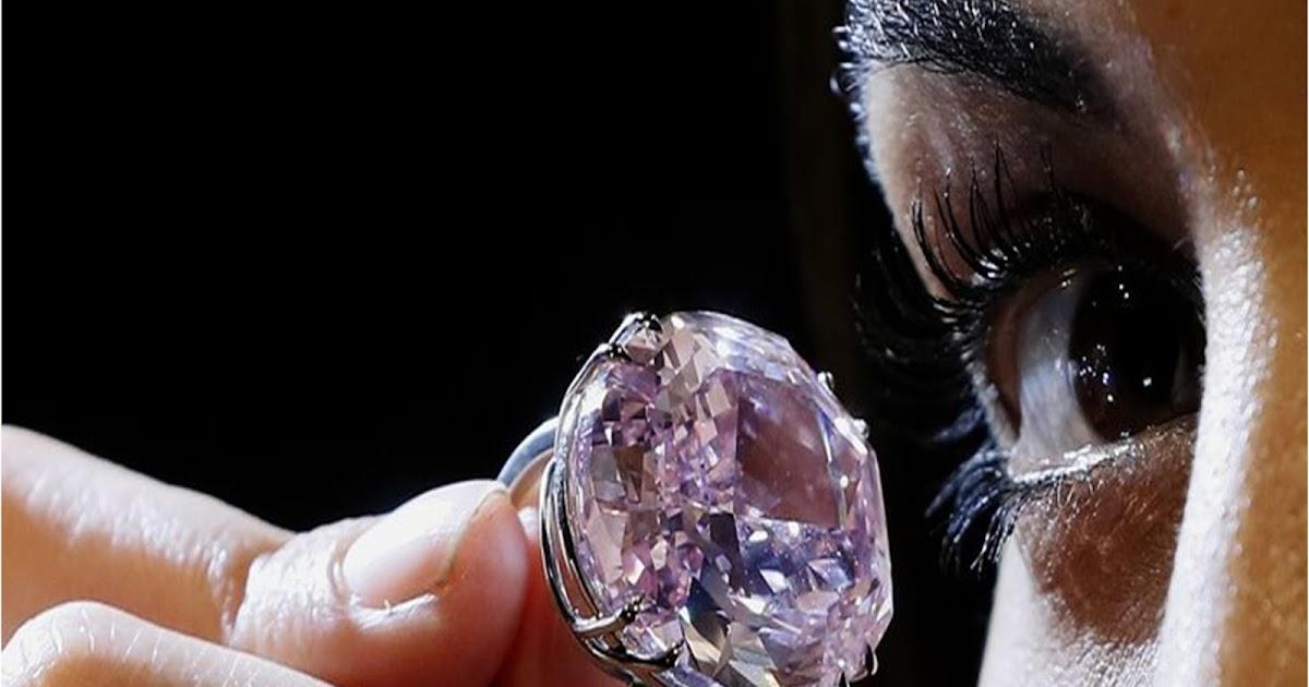 «Στο σφυρί» για 60 εκατ. δολάρια τo διαμάντι «Pink Star»  d09372b82a1