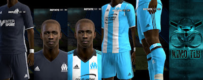 PES 2013 Olympique De Marseille Kit 2017 By KIMO T.L.B 19
