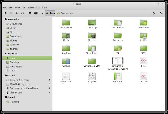 Como ocultar arquivos e pastas no gerenciador de arquivos sem renomeá-los no GNU/Linux!