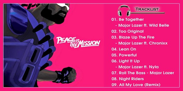 Be Together Lyrics - MAJOR LAZER