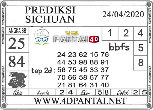 PREDIKSI TOGEL SICHUAN PANTAI4D 24 APRIL 2020