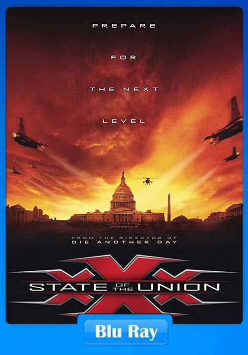 xXx StateOf The Union 2005 Hindi BluRay 720p Dual Audio | 480p 300MB | 100MB HEVC Poster