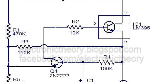 lamp flasher using ic lm395