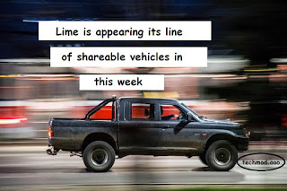 Lime is appearing its line of shareable vehicles in Seattle this week